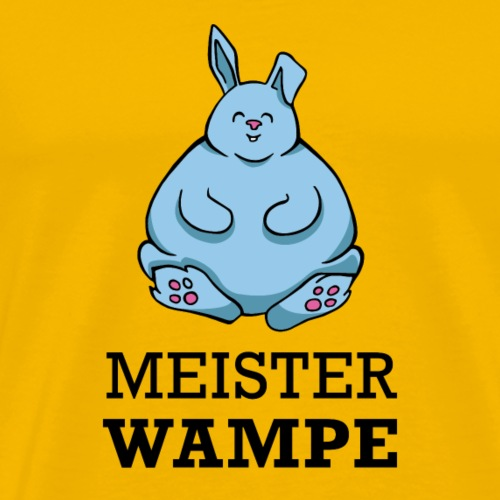Meister Wampe - Männer Premium T-Shirt