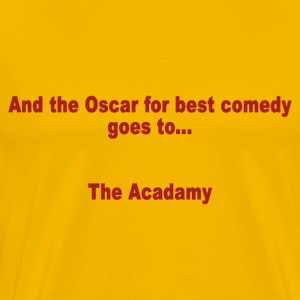 And the Oscar for best comedy goes to... the Acada - Mannen Premium T-shirt