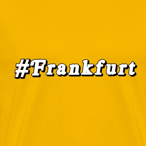 #Frankfurt - Männer Premium T-Shirt