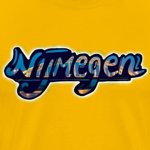 Nijmegen brug - Mannen Premium T-shirt