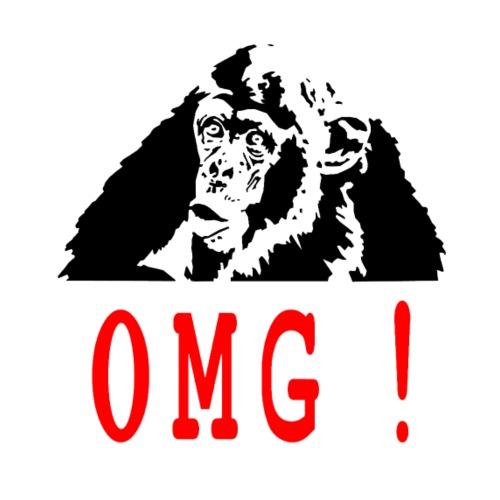 OMG monkey - T-shirt Premium Homme