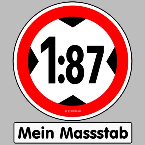 1:87 Mein Massstab - Männer Premium T-Shirt