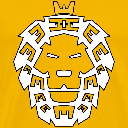 Löwenkopf - Männer Premium T-Shirt