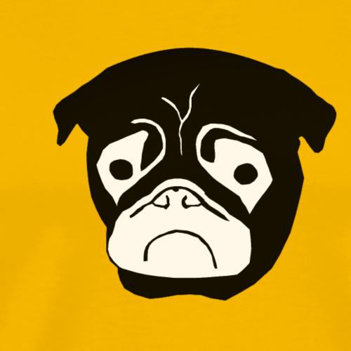 Mops Trudi - Männer Premium T-Shirt
