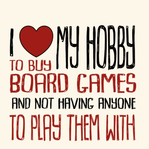 Love My Hobby Red - Premium-T-shirt herr