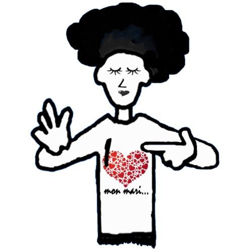 I LOVE MON MARI - T-shirt Premium Homme