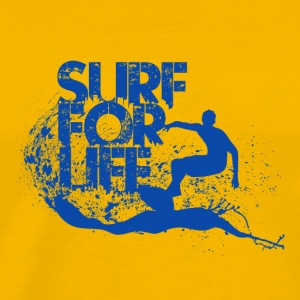 Surf for Life - Men's Premium T-Shirt