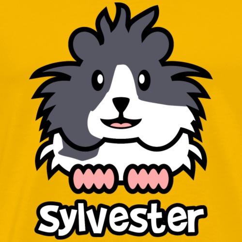 Meerschweinchen Sylvester - Männer Premium T-Shirt