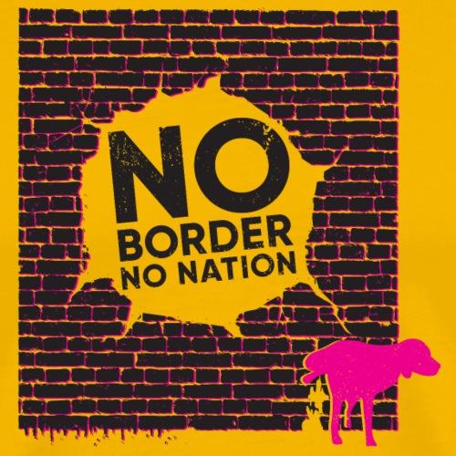 Keine Nation - keine Grenzen - Männer Premium T-Shirt