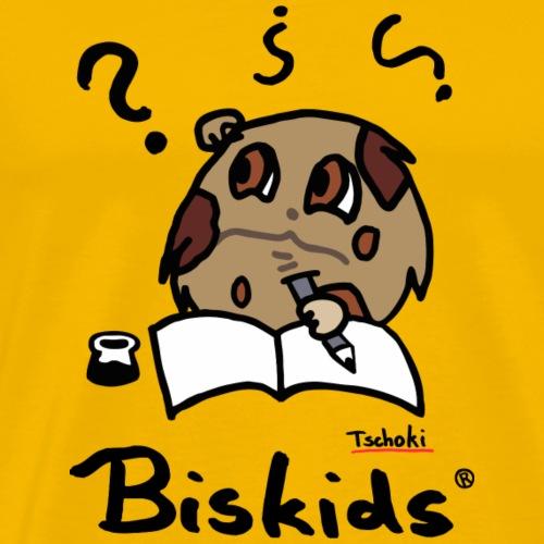 Lisa Jane Biskids Tschoki BG 27092017 1 - Männer Premium T-Shirt