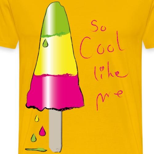 Eis so cool - Männer Premium T-Shirt