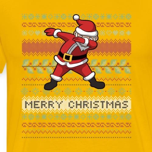 Santa dabbing - Men's Premium T-Shirt