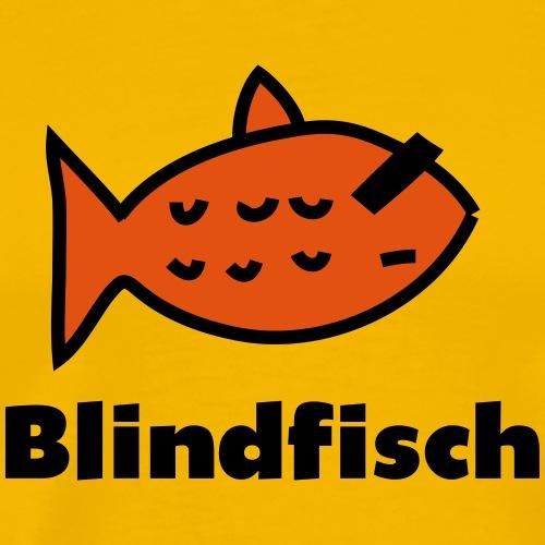 Blindfisch_C_v2 - Männer Premium T-Shirt