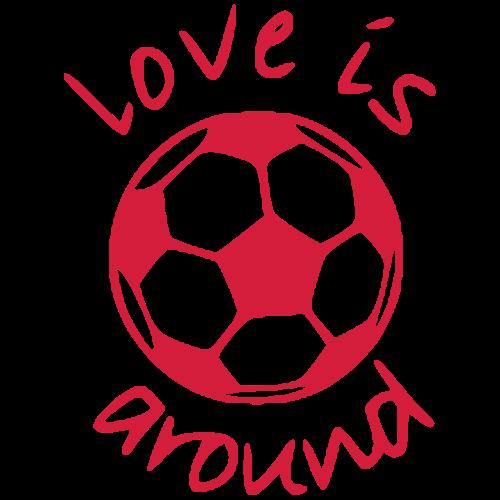 Love is B-all around! - Men's Premium T-Shirt