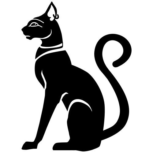 Bastet - Katzengöttin im alten Ägypten - Männer Premium T-Shirt