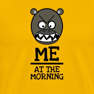 Good Morning Grumpy - MIG PÅ MORGONEN - Premium-T-shirt herr