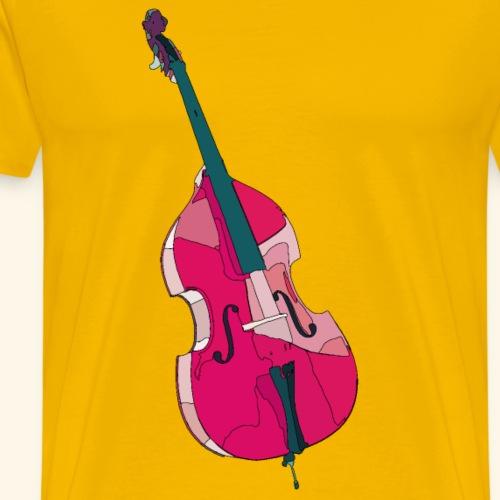 kontrabass2 - Männer Premium T-Shirt