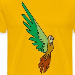 Papagei - Conner Conure Colored - Männer Premium T-Shirt