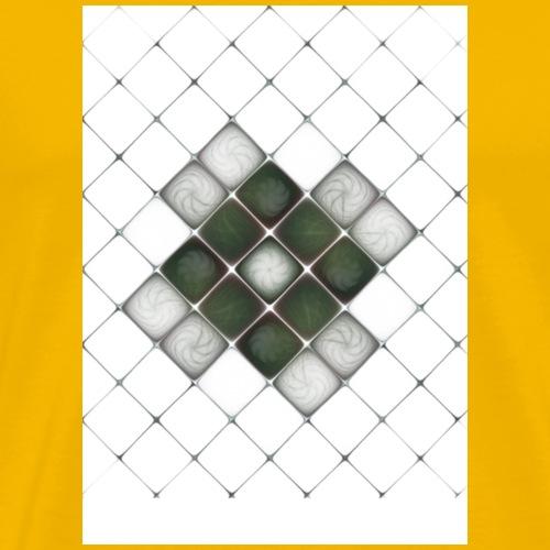 Future Cube - Maglietta Premium da uomo
