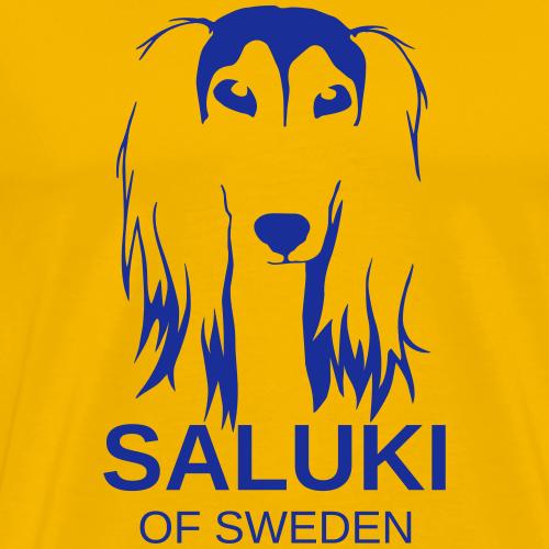Saluki Sweden - Premium-T-shirt herr