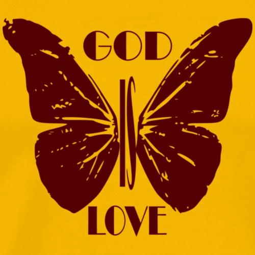 God Is Love Tshirt - Men's Premium T-Shirt