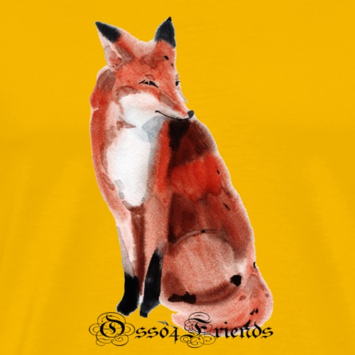 FOX - Maglietta Premium da uomo