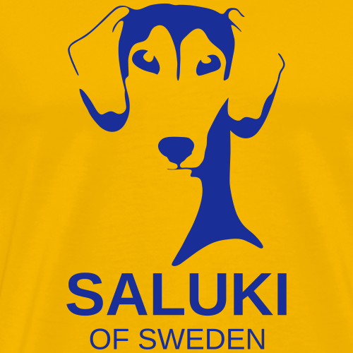 Saluki of Sweden - Premium-T-shirt herr