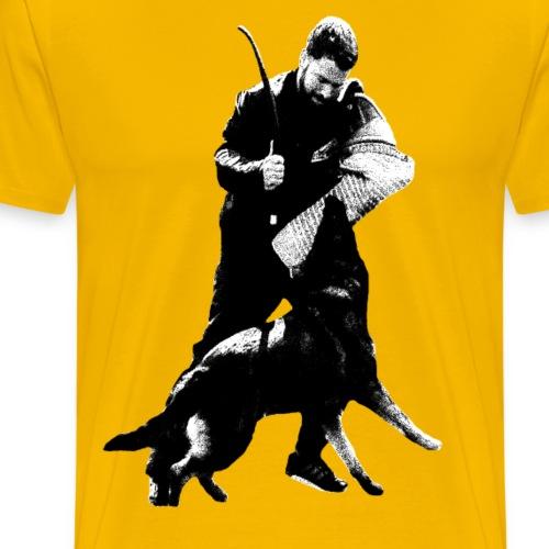 Schäferhund,Hundesport,Wachhund,Polizeihund,Hund - Männer Premium T-Shirt