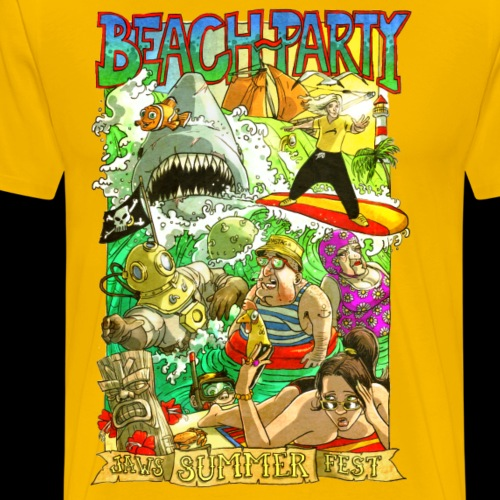 Beach-party - T-shirt Premium Homme
