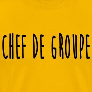 chef_de_groupe - Mannen Premium T-shirt