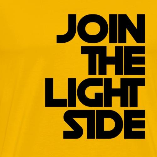 Join the light side N - Maglietta Premium da uomo