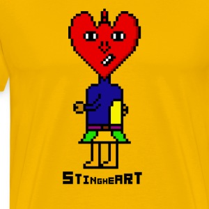 Sting Heart - Men's Premium T-Shirt
