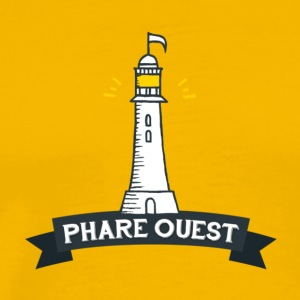 phare vest - Premium T-skjorte for menn