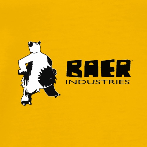 baer industries Wort Bildmarke 2017 white - Männer Premium T-Shirt