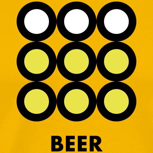 Beer. Vedi anche la versione Wine. - Maglietta Premium da uomo