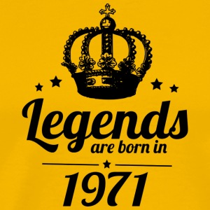 Legends 1971 - Premium-T-shirt herr