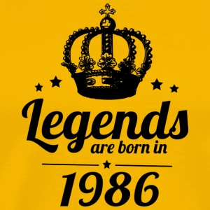 Legends 1986 - Premium T-skjorte for menn