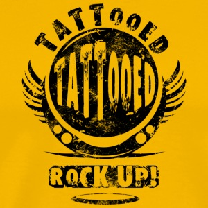 TATTOOED - BLACK - Men's Premium T-Shirt
