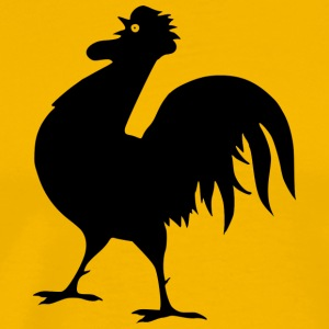 chicken87 - Premium-T-shirt herr