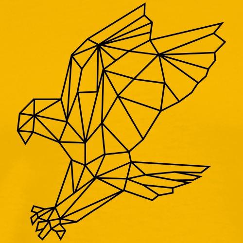 Adler | Polygone - Männer Premium T-Shirt