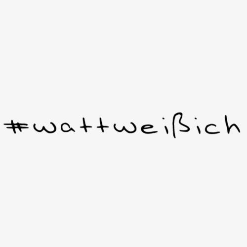 wattweissich - Männer Premium T-Shirt