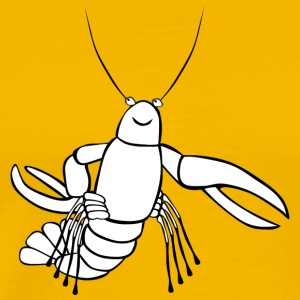 lobster17 - Premium-T-shirt herr