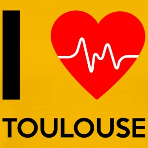 I Love Toulouse - Ich liebe Toulouse - Männer Premium T-Shirt