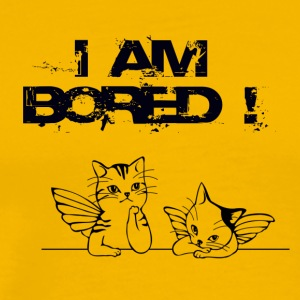 I AM BORED - Men's Premium T-Shirt