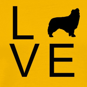 Love Dog 3 - Mannen Premium T-shirt