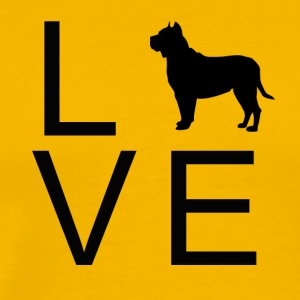 Love Dog 7 - Mannen Premium T-shirt
