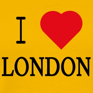 I Love London - Premium T-skjorte for menn