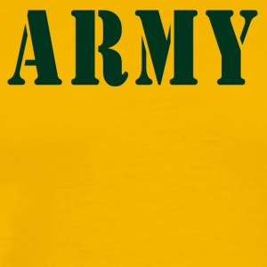 ARMY - Men's Premium T-Shirt