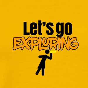 Come on let's go exploring - Men's Premium T-Shirt