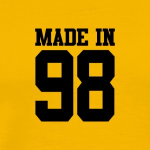 MADE IN 98 -1998 - BIRTHDAY - Men's Premium T-Shirt